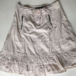 Dresses & Skirts - 🌈Marc Jacobs Cotton pink tiered skirt gathered